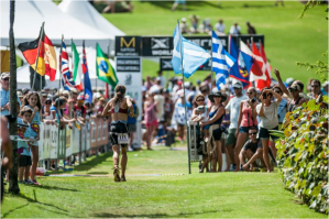 Maui Finish Line. Great shot taken by Nils Nilsen
