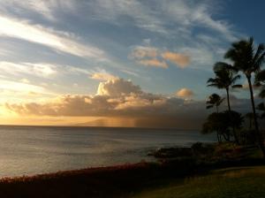 Sunset @ Napili Bay